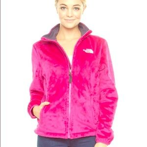 Winter Fave! Small Pink Fuzzy North Face Jacket